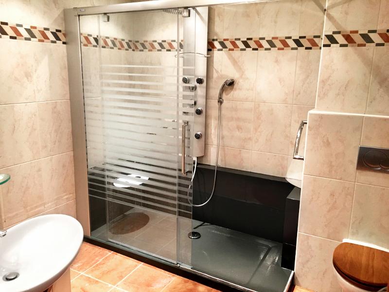 Nouvelle douche et nouvelle salle de bain