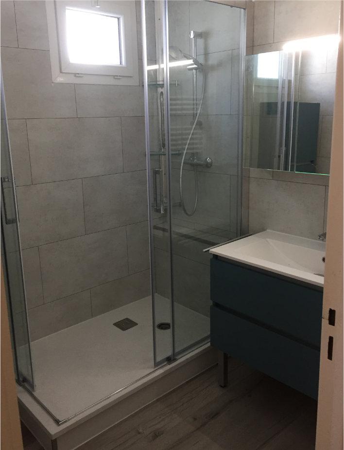 Photo de douche après travaux
