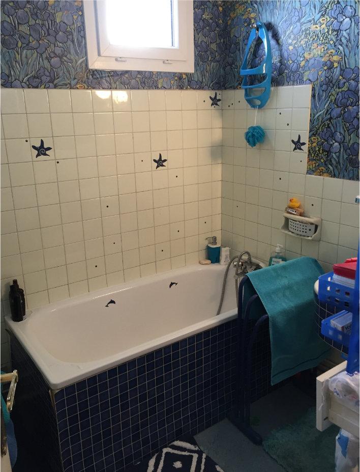 Photo de salle de bain avant travaux