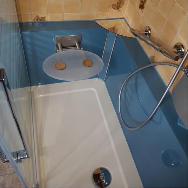 Photo de douche pour avis client Claude E.