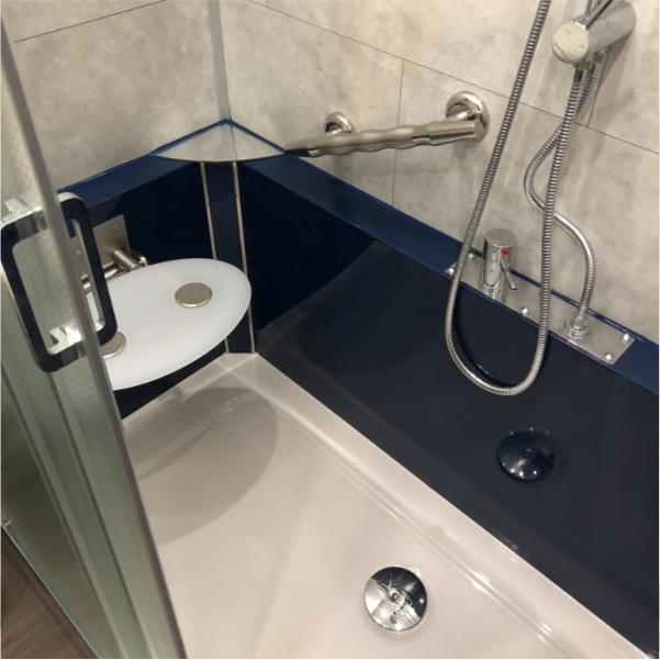 Photo de salle de bain après rénovation (avis client)