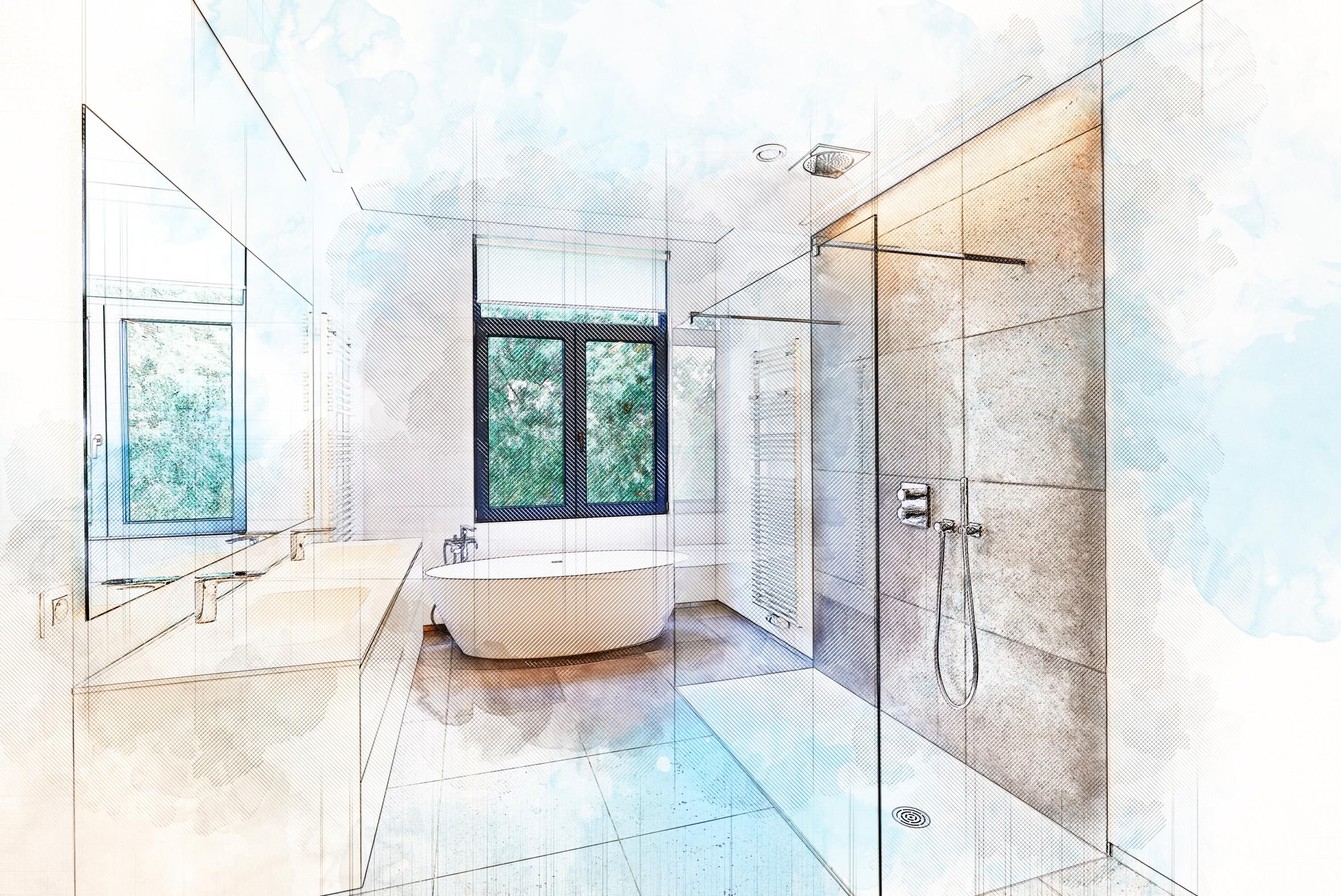 Fabrication de salle de bain sur mesure