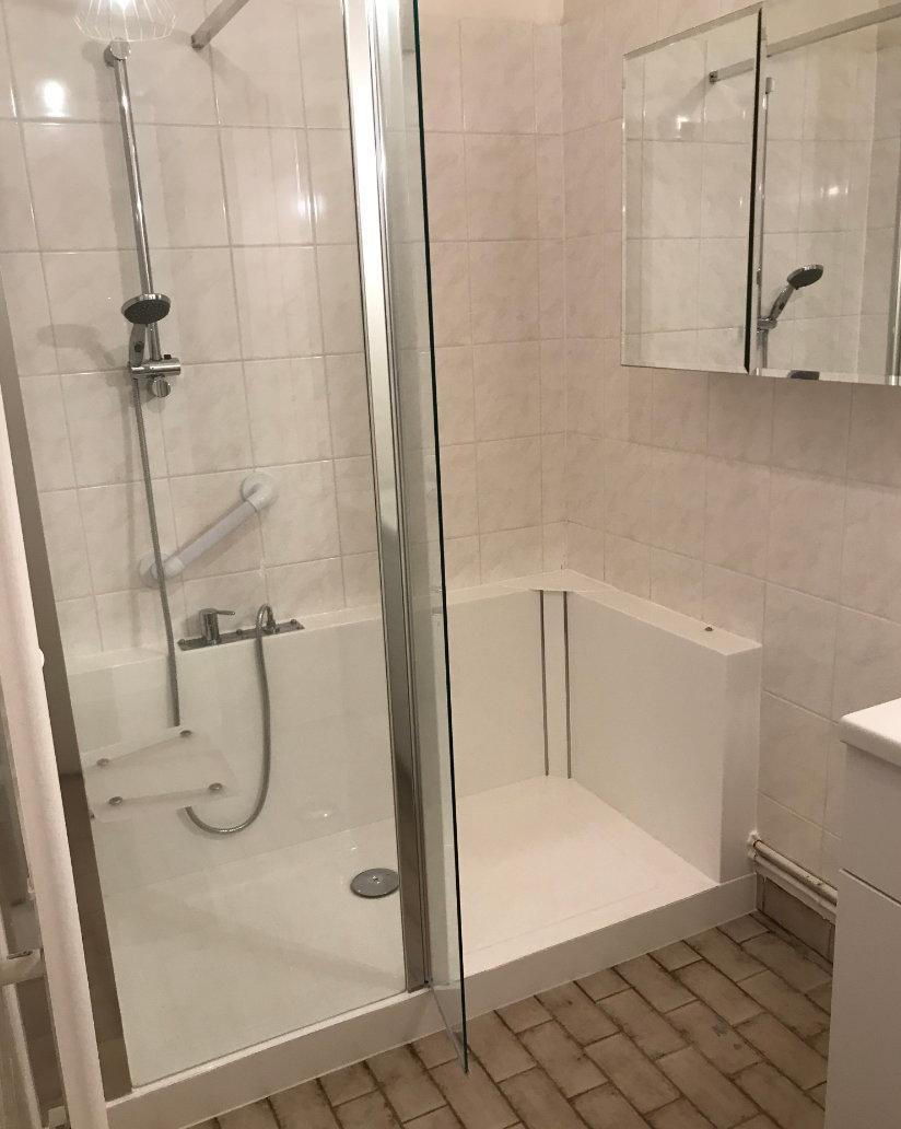 Phot de douche après relooking