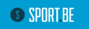 Logo Sport BE sur fond bleu