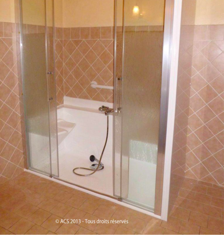 Exemple de rénovation par Easy shower
